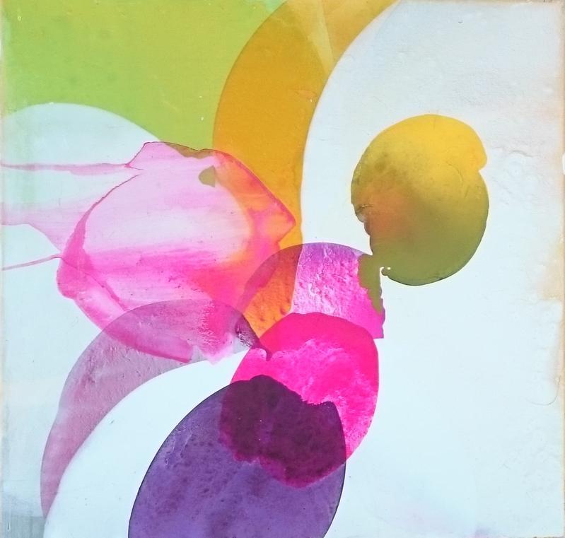 Kunsthaus frenzel bild blume lila goeppingen