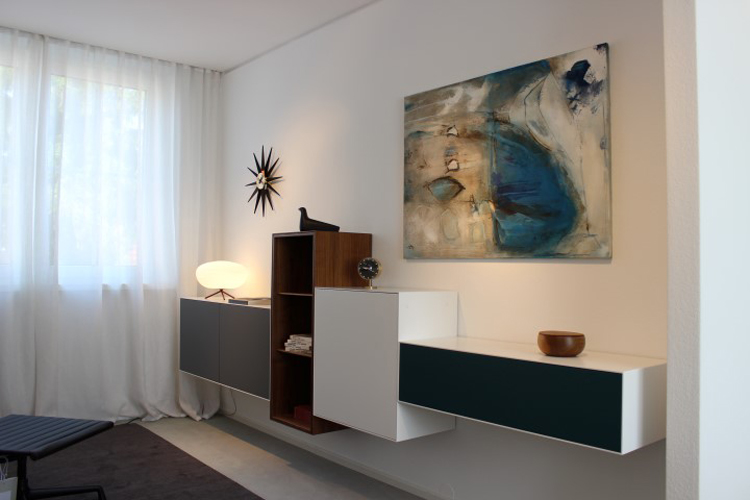 Kunsthaus frenzel kunstausstellung bild blau goeppingen