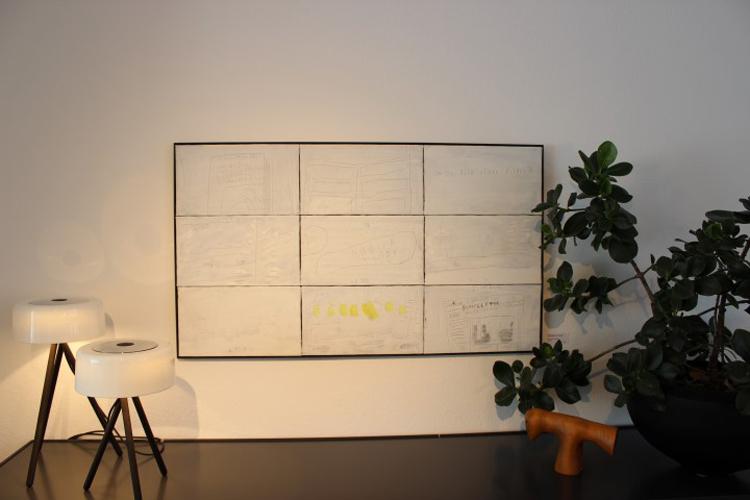 Kunsthaus frenzel kunstausstellung bild weiss goeppingen